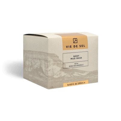 Lichaamsmoddermasker verpakking